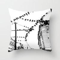 Porto I Throw Pillow