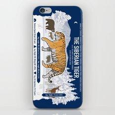 The Wild Ones: Siberian Tiger (info) iPhone & iPod Skin