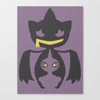 Pocket Monster 353 And 3… Canvas Print