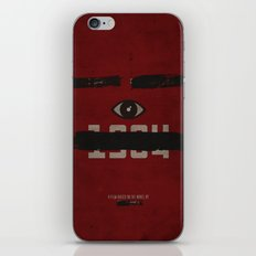 George Orwell's 1984 Inspired Vintage Movie Poster iPhone & iPod Skin