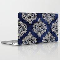 Cream Floral Moroccan Pa… Laptop & iPad Skin