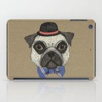 Mr Pug iPad Case