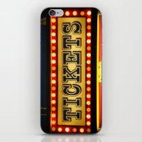 Tickets iPhone & iPod Skin