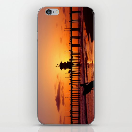 Surfers Sunset iPhone & iPod Skin