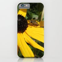 iPhone & iPod Case featuring Yellow Flower #1 by Emma Conner