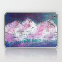 Pink Mountains Laptop & iPad Skin