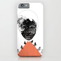 iPhone & iPod Case featuring Moonrise mountain by Madame Potpourri