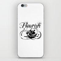 Flourish & Blotts Of Dia… iPhone & iPod Skin