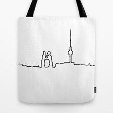 Berlin Life Line Tote Bag