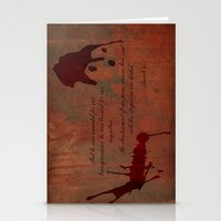 Calvary's Blood Stationery Cards