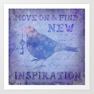 Art Print featuring Motivation by LebensART