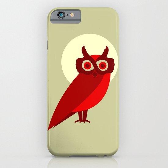 THE ETERNALLY OPTIMISTIC OWL iPhone & iPod Case
