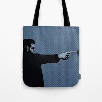 Kittappa Series - Blue Tote Bag