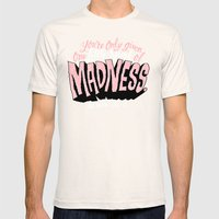 One Spark of Madness Mens Fitted Tee Natural SMALL