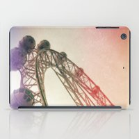 Vintage Ferris Wheel  iPad Case