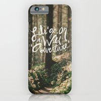 Let's Go on a Wild Adventure iPhone 6 Slim Case