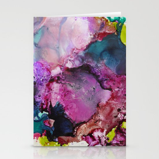 Color Splash Stationery Card
