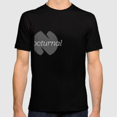 Nocturnal Black SMALL Mens Fitted Tee