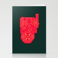 Circuit Drawing Of A Pro… Stationery Cards