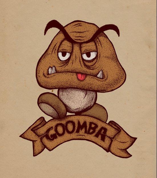 Goomba Art Print
