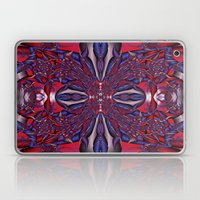 twisted abstract cross Laptop & iPad Skin