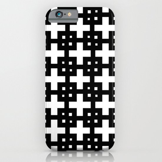 Telder Black & White iPhone & iPod Case