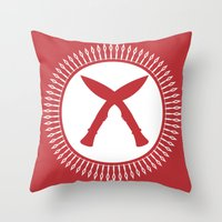 Khukuri Throw Pillow