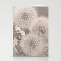Dandelions 3 Square Stationery Cards