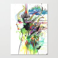 Slack Canvas Print