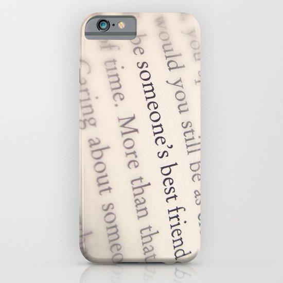 Someone's Best Friend iPhone & iPod Case