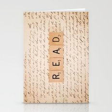 Bookaholic Stationery Cards
