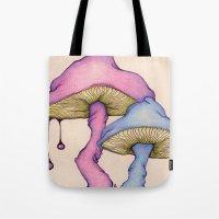 Shroom Doodle Tote Bag