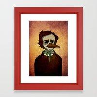 Prophets Of Fiction - Ed… Framed Art Print