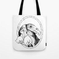 Mr. Vulture Tote Bag