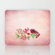 Purple Watercolor Bouque… Laptop & iPad Skin