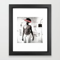Artiste:Basquiat Framed Art Print