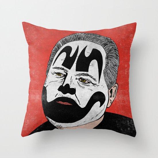 Rush Juggalaugh Throw Pillow