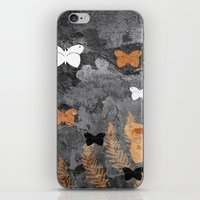 Grungy nature iPhone & iPod Skin