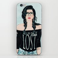 ALL IS NOT LOST iPhone & iPod Skin