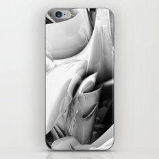Twist Of Heart - White iPhone & iPod Skin