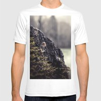 The Lookout Mens Fitted Tee White SMALL