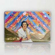 Psychedelic Sky Laptop & iPad Skin