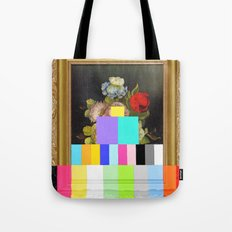 A Painting Of Flowers Wi… Tote Bag