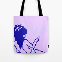 Cold Spectral Babes Tote Bag