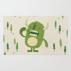 the tree muncher Rug