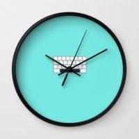 Nerd's Space Wall Clock