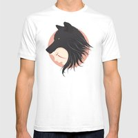 Boy Cries Wolf Mens Fitted Tee White SMALL