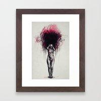 Who I Wanna Be Framed Art Print