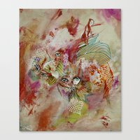 The Happy Folk Canvas Print