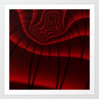 Fractal Lashes Art Print